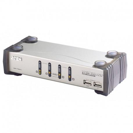 ATEN รุ่น CS1734A 4PORT PS/2 USB KVMP SWITCH