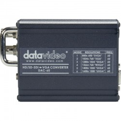 DATAVIDEO รุ่น DAC-60 SD/HD-SDI TO VGA SCALER
