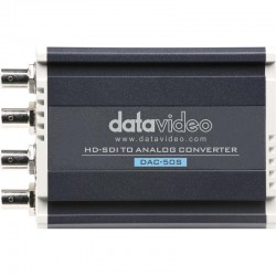 DATAVIDEO  รุ่น DAC-50S 3G/HD-SDI TO COMPOSITE, S-VIDEO, YUV CONVERTER