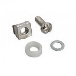 G7-09300  SCREW M6 + CAPTIVE NUT M6 + Plastic washer + Metal gasket (ชุดน็อต M6)