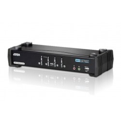 ATEN:CS1784A  4-Port USB DVI Dual Link KVMP™ Switch